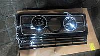 Логотип BRABUS в решетку радиатора Mercedes G-Class