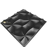 """Пластиковая форма для 3D панелей """"Лепестки"""" (форма для 3д панелей из абс пластика)"""