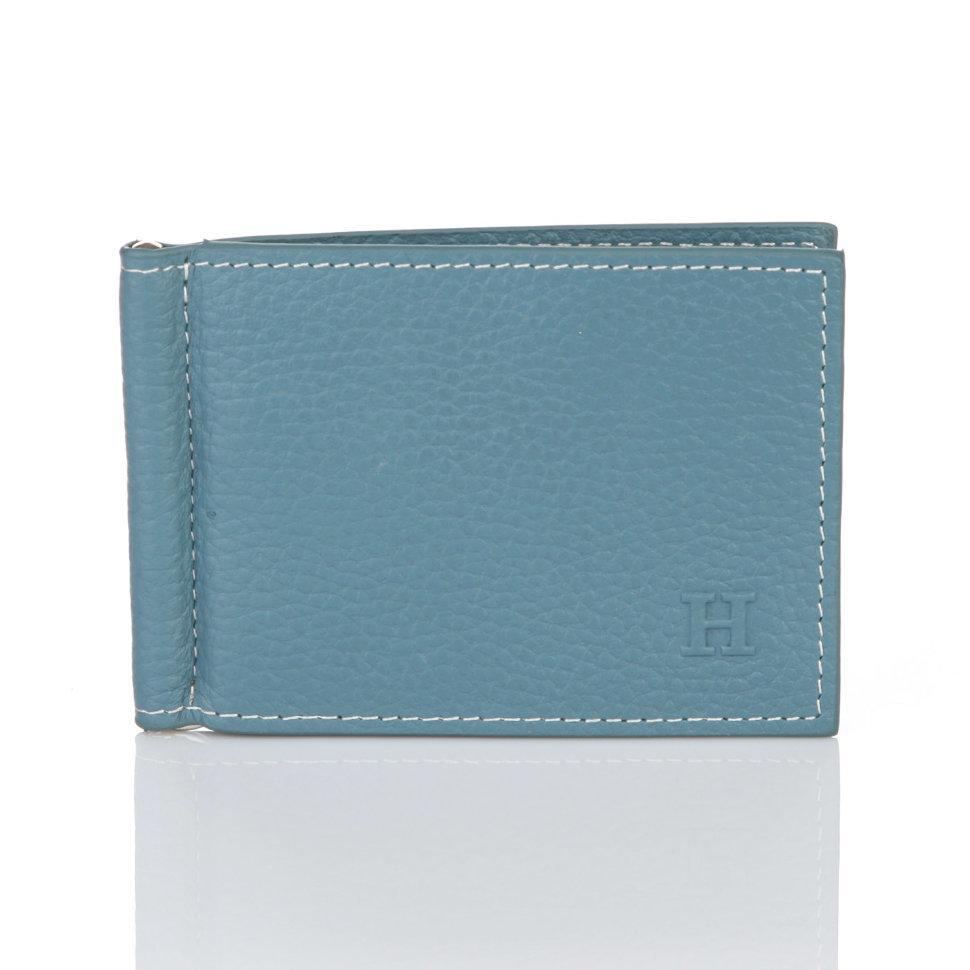Зажим для денег Hermes Light Blue