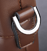 Мужская кожаная сумка. Модель 61172, фото 4