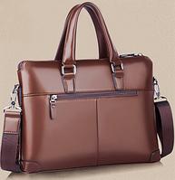 Мужская кожаная сумка. Модель 61172, фото 2