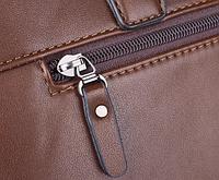Мужская кожаная сумка. Модель 61172, фото 6