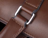 Мужская кожаная сумка. Модель 61172, фото 8