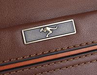 Мужская кожаная сумка. Модель 61172, фото 9