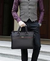 Мужская кожаная сумка. Модель 61172, фото 10