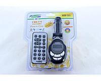 Трансмитер / модулятор FM MOD. ED21, MP3, 12В, пульт д/у, SD/ММС card, LED экран, автомобильный FM-трансмиттер