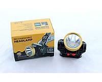 Фонарик на лоб. 0509 аккамуляторный, USB 2.0, светодиодный, светодиодов 12, пластик, фонарь для путешесвия