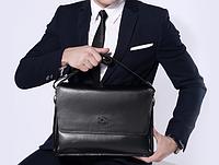 Мужская кожаная сумка. Модель 61173