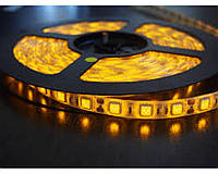 Светодиодная лента 5050 Желтая, 12В, 300 светодиодов 5м, IР20, 600Лм/м, Led лента