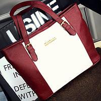 Вместительная оригинальная женская сумка, цвета в наличии