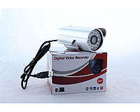 Камера CAMERA TF 680 + DVR, цветная, День/ночь, ИК-подсветка, SD-карта, 4Мр, USB, от сети, камера для наблюдения
