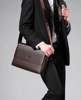 Мужская кожаная сумка. Модель 61174
