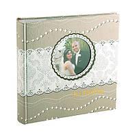 Свадебный фотоальбом Pearl 100ф 15х21см  №1