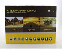 """Регистратор DVR CAD 1216 AHD 16ch, """"День/ночь"""" , внутренняя/уличная, бытовое, пластик, регистратор для видеокамер"""