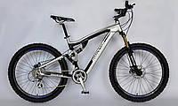 Велосипед горный MTB, Barracuda 1102, двухподвесный, 24 скорости.