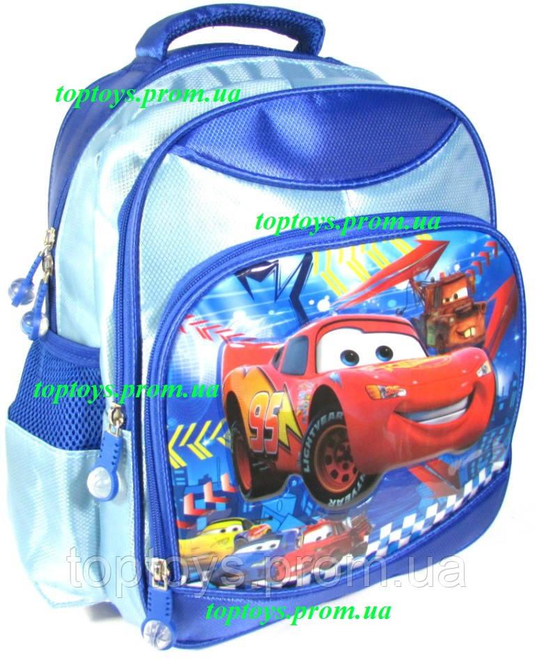 6edec7dabaf9 Рюкзак ранец для Мальчика школьный Молния Маккуин, Тачки (McQueen Cars ).  Начальная школа