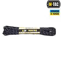 M-TAC ПАРАКОРД REFLECTIVE TRASER BLACK 15М
