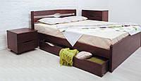 Кровать односпальная Лика Люкс с ящиками для белья, 800х1900(2000) мм