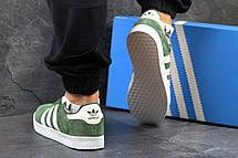 Мужские кроссовки Adidas 350 зеленые 44р, фото 3