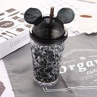 Бутылка Микки Маус (черный)