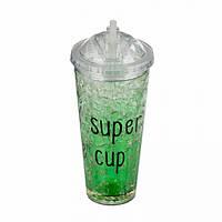 Охлаждающая бутылка (зеленый)