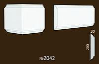 Раздельная полоса №2042 фасадній декор из пенопласта. цену уточняйте