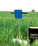 Soil hardness tester with GPS and online transmission via GSM