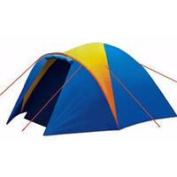 Туристическая палатка с тамбуром Coleman 1011 3-х местная. 2-х слойная