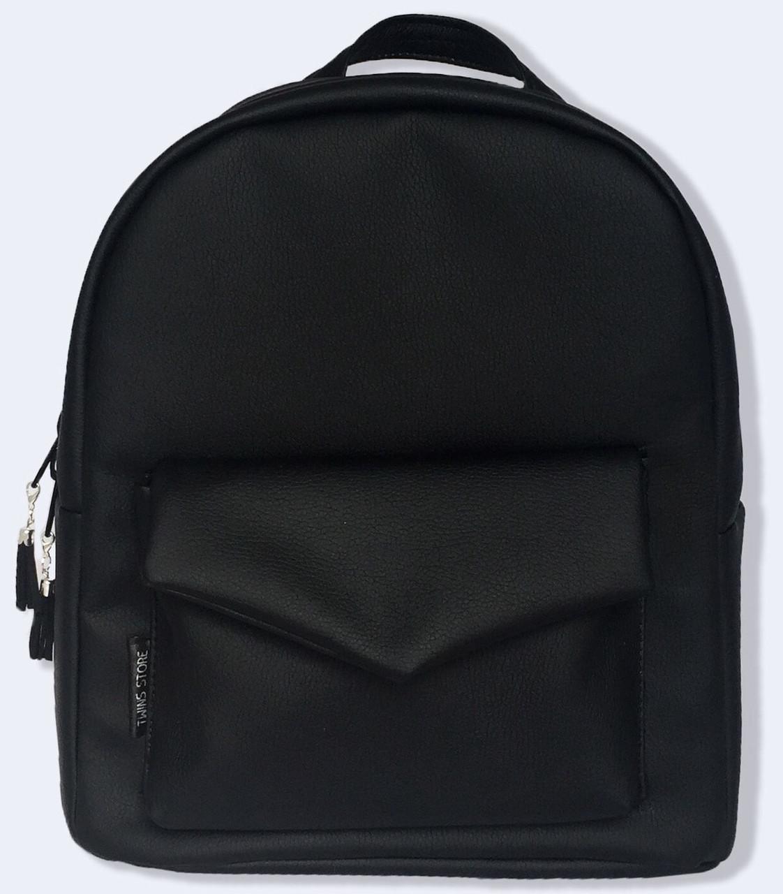 e392f91584f1 Кожаный женский рюкзак из эко-кожи TwinsStore, Р32 — только ...