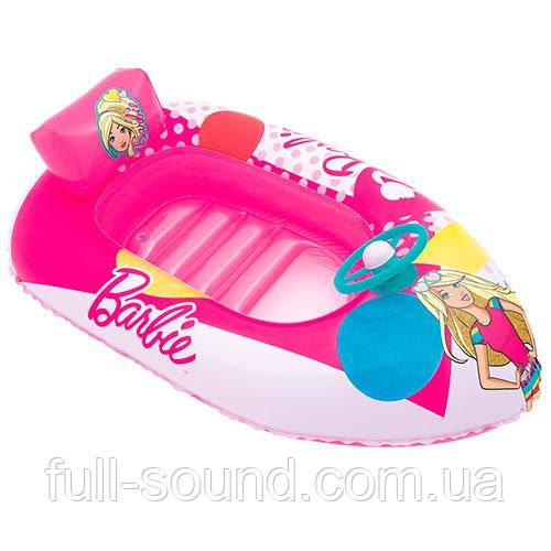 Надувной плотик barbie 93204