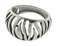 "Кольцо ""Адаро"" покрытое серебром (e8043090)"
