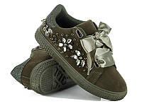 Женская спортивная модная обувь. Кеды женские оптом от фирмы Violeta 20-403 army green(8 пар, 36-41)