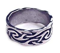 """Кольцо """"Отто"""" покрытое серебром (a8523090)"""