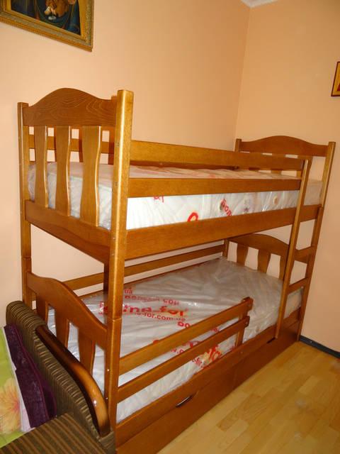 Ліжко двоярусне дитяче