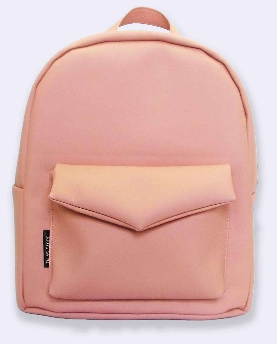 dc2e266cf16f Женский рюкзак из эко-кожи TwinsStore, Р39 персиковый — только ...