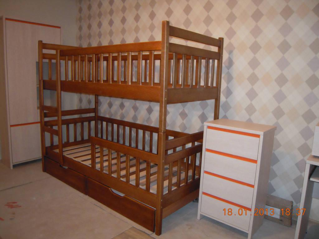 Ліжко двоярусне Том і Джері
