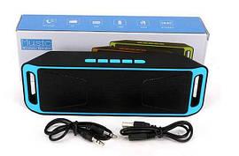 Портативная колонка Megabass с радио, блютуз, USB