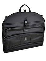 Дорожная сумка саквояж из нейлона Портплед 7411 black