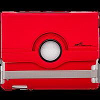 Чехол для iPad модели 2 / 3 / 4  с подставкой красный кожа PU