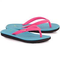 Шлепанцы Nike Girls Solarsoft Thong 2 GS PS 555624-612