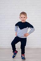 Штаны из трикотажа на манжетах для детей