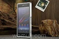 Оригинальный металлический чехол бампер накладка для телефона SONY XPERIA  Z1 C6902