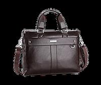 Мужская сумка , коричневая мужская плечевая + ручки