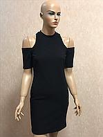 Чёрное женское платье Glamorous, 40р