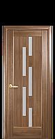 Дверь  Лаура цвета грей,венге,ольха золотая,каштан,ясень, золотой дуб ПВХ