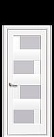 Двери Сиена белый матовый ПВХ