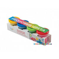 Набор для лепки Тесто-пластилин Неоновые цвета Genio kids TA1016