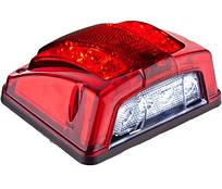 Подсветка номера диодная красная с габаритом