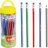 Ручка масляная Cello 568 синяя