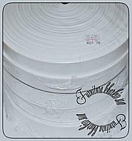 Резинка белая  2,5 см Турция 50м